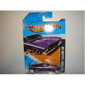2012 Hot Wheels Muscle Mania   Ford 73 Ford Falcon XB Purple #120/247