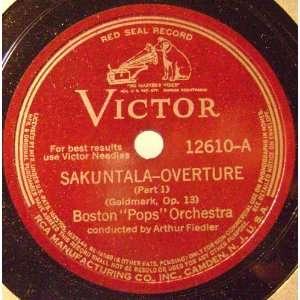 Sakuntala Overture,(Goldmark) Fiedler Boston Pops Music