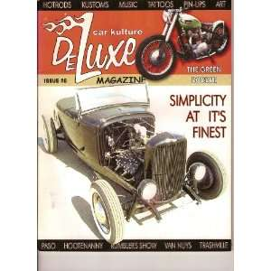 Car Kulture Deluxe Magazine (Hot Rods*Kustoms*Music