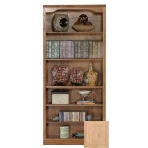 Coastal 14372NGUN Coastal Classic Oak 72 Open Bookcase