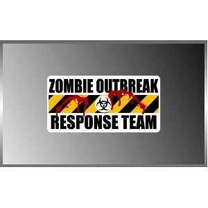 Resident Evil Zombie Outbreak Response Team Blood Splatter