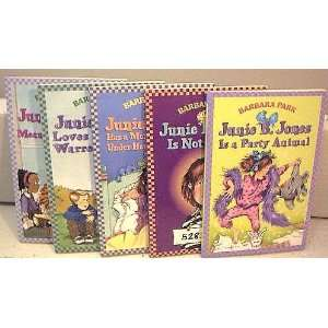 5 Junie B. Jones   #6 Meanie Jims Birthday   #7 Loves