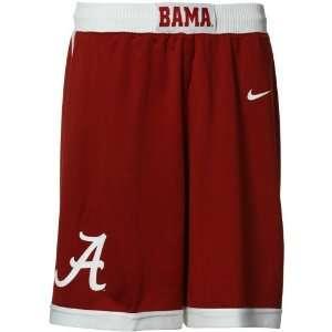Nike Alabama Crimson Tide Mens Replica Basketball Shorts