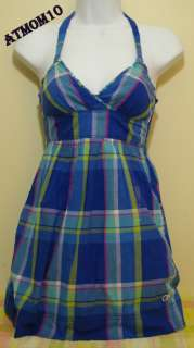 NWT Gilly Hicks by Abercrombie Women Dress Blue XS