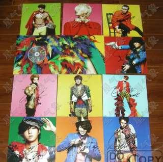 SUPER JUNIOR   Mr.Simple Kyuhyun cover Autographed CD