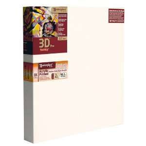 Artist Canvas 3D Pro Carmel Portrait Smooth Canvas, 23 Inch by 37 Inch