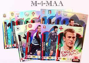 Choose Your GOAL STOPPER Card Panini UEFA EURO 2012 Adrenalyn XL FREE