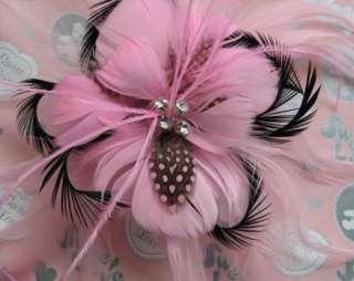Girls baby flower hair bow clips brooch handmand 1 pcs