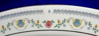 Sango Tivoli 8305 China Salad Plate Pink & Blue