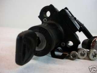 05 06 Honda CBR 600RR Ignition Lock Set w/ One Key DMG