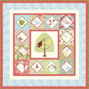 MODA Quilt Panel ~ 12 DAYS OF CHRISTMAS ~ FREE PATTERN