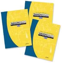 Saxon Math 54 Homeschool Kit Home Study 5/4 Fifth Grade