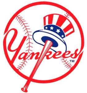 NEW YORK YANKEES Logo NAIL TATTOOS LOT 10 pks MLB