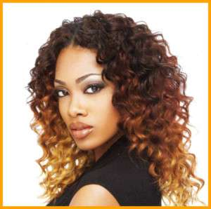 100% Human Hair Sensationnel Deep Wave 12 Weave Track