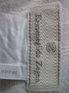 ERMENEGILDO ZEGNA Womens White cotton Button Shirt Top