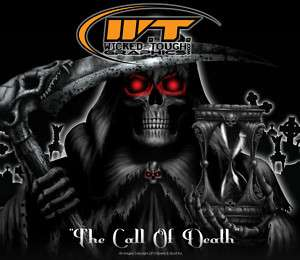 YAMAHA RAPTOR 700 700R GRAPHICS THE CALL OF DEATH WHT