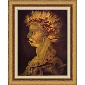 Fire by Giuseppe Arcimboldo   Framed Artwork