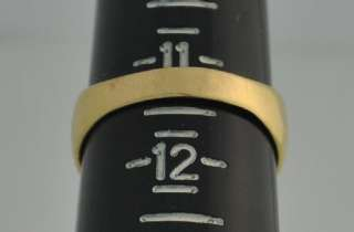 Mens 18k Solid Gold Horseshoe Ring 10.9 Grams w/ Seven (7) Tested