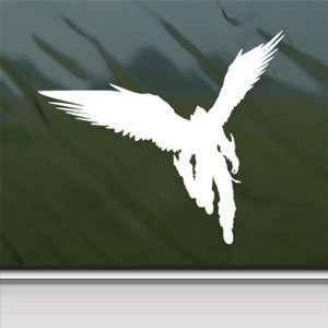 Tekken 6 White Sticker Devil Jin PS3 Xbox 360 Laptop Vinyl White Decal
