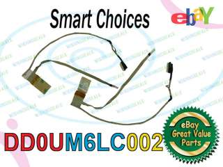 New Dell Inspiron 1564 LCD Cable 61TN9 DD0UM6LC002