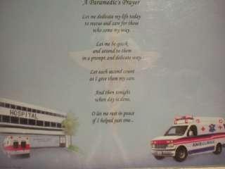 PARAMEDICS PRAYER ON MEDICAL 1 PRINT