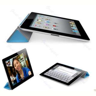 Magnetic PU Leather Slim Smart Cover Case Stand For Apple iPad 2 3rd