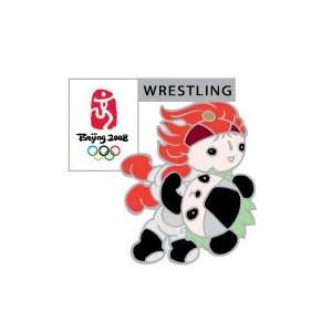 Jingjing / Huanhuan Wrestling Pin:  Sports & Outdoors