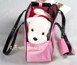 high quality pink doggie totes puppy travel carrier handbag portable