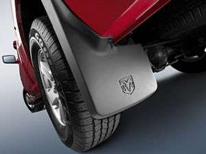 2010 2011 Dodge Ram H.D. Mopar Splash Guards Mud Flaps