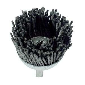 2 Nylon Filament Cup Brush w/ 1/4 Shank Automotive