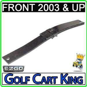 EZGO 2003 Up Gas and Electric Golf Cart Front Leaf Spring