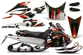 AMR RACING SNOWMOBILE DECAL KIT SLED GRAPHIC KIT YAMAHA FX NYTRO 08 12