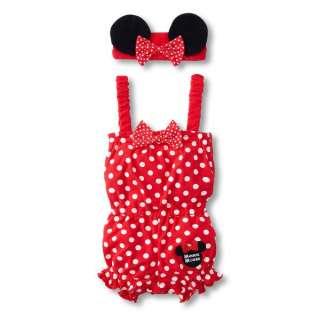 2012 New Pretty Cartoon Baby Girls Minnie Romper Jumpsuit Dress