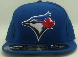 TORONTO BLUE JAYS ON FIELD HAT 2012 5950 FITTED NEW TEAM LOGO CAP