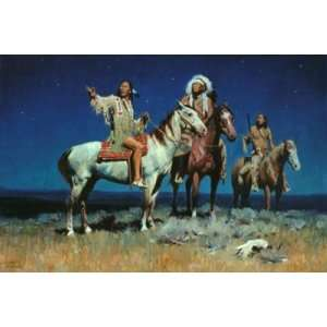 Night Signs by David Mann, 30x20 Home & Kitchen