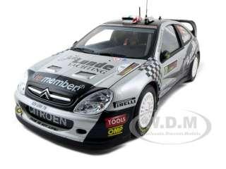 CITROEN XSARA WRC #11 P.SOLBERG/P.MILLS 1/18 2009 RALLY