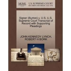 Pleadings (9781270530169) JOHN KENNEDY LYNCH, ROBER H BORK Books