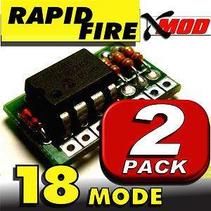 RAPID FIRE MOD KIT   XMOD 2 LOT   BLACK OPS @ 18 MODE