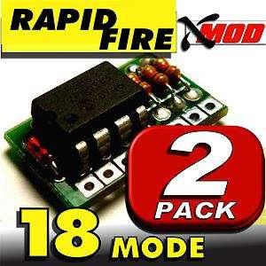 RAPID FIRE MOD KIT   XMOD 2 LOT   BLACK OPS @ 18 MODE
