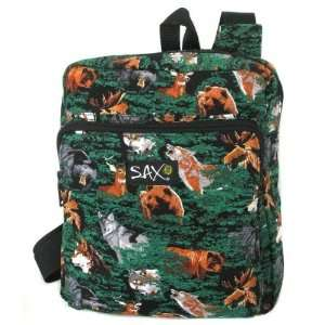 Wolf Bear Deer Small Backpack Case Pack 24: Everything