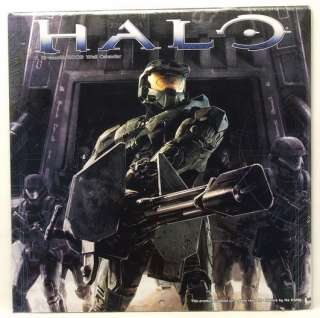 NEW/SEALED HALO XBOX 360 VIDEO GAME 2009 WALL CALENDAR