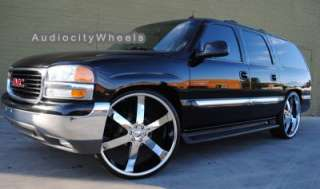 26inch Wheels,Rims Ford,escalade GMC Chevy Yukon Tahoe