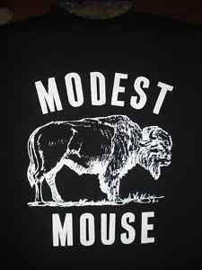 Modest Mouse Black Shirt Buffalo  SZ S M L