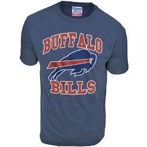 Junk Food Buffalo Bills Retro T Shirt Large Sports