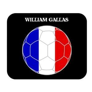 William Gallas (France) Soccer Mouse Pad