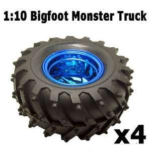 monster car Truck rubber tires tyre,Plastic wheel rim 6008 3002