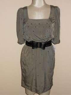 NWT Jessica Simpson Bow Belt Studded Dress 14 $148