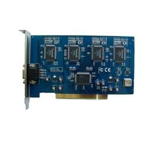 4 channel video audio realtime dvr card pci home office