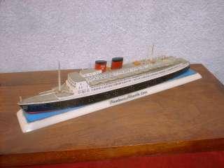 Vintage Miniature Van Ryper/Richard Wagner Wooden Ship Model,HANSEATIC