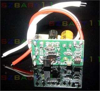 3x1W High Power LED Light lamp Driver Power Supply Output 12V 600mA